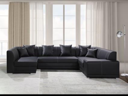 Couch Couchgarnitur VENICE BIS mit Schlaffunktion Polsterecke Schlafsofa Sofa