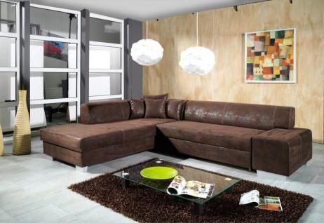 Schlafsofa Couch Couchgarnitur Sofa Garnitur mit Schlaffunktion L Form OSCAR