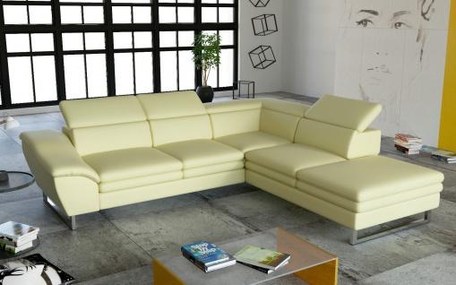 Couch Garnitur Ecksofa Sofagarnitur Sofa MICHELLINI 4 Wohnlandschaft