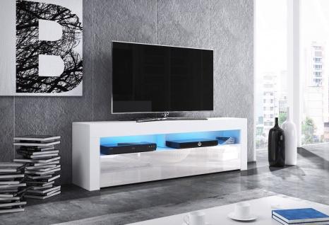 TV Board Lowboard Unterschrank Sideboard MEX matt oder hochglanz 160 cm