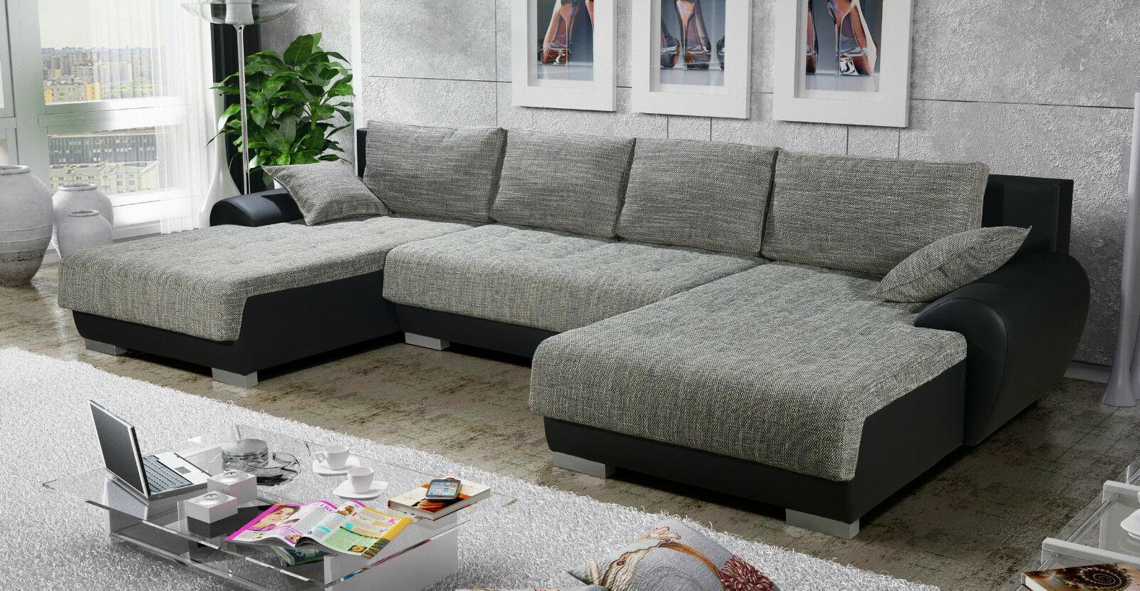 Couchgarnitur Couch Sofagarnitur Leon 6 U Sofa Wohnlandschaft