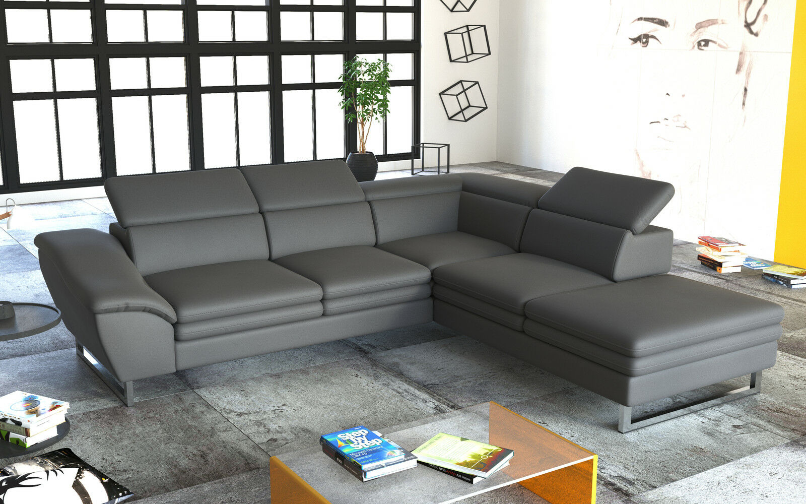 Couch couchgarnitur michellini 1 sofagarnitur sofa for Sofa wohnlandschaft