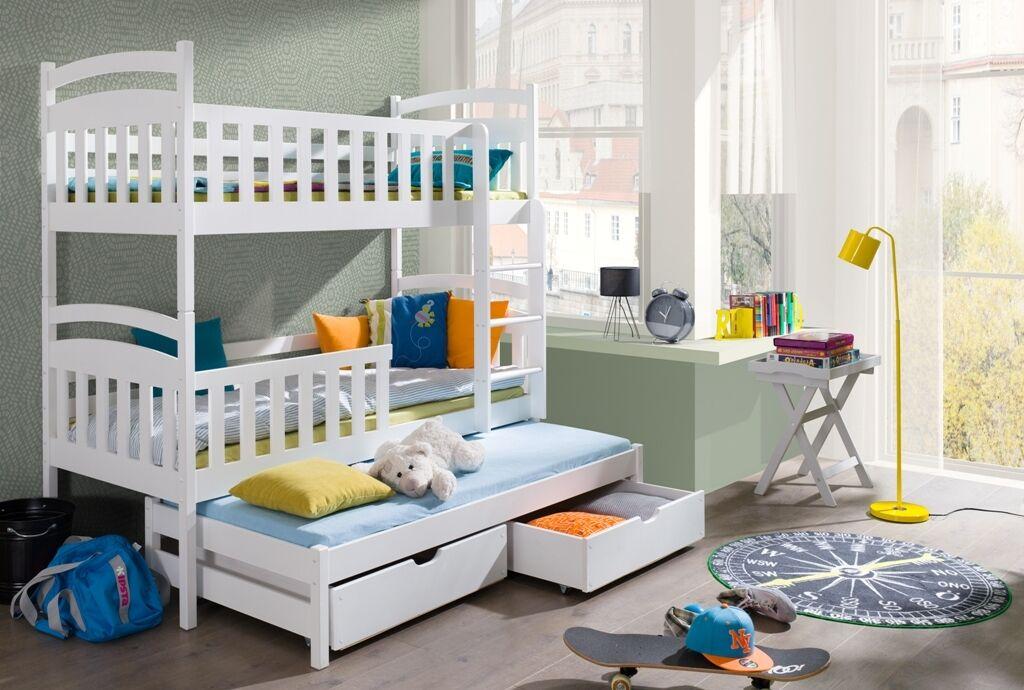 Etagenbett Für 3 : Cäsar ⭐ etagenbett kinder kinderbabybett