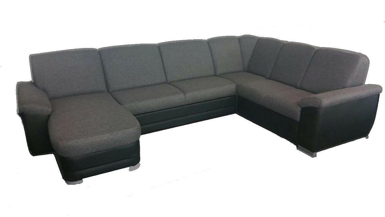 Couchgarnitur Brixen U Schlaffunktion Sofa Ecksofa Couch