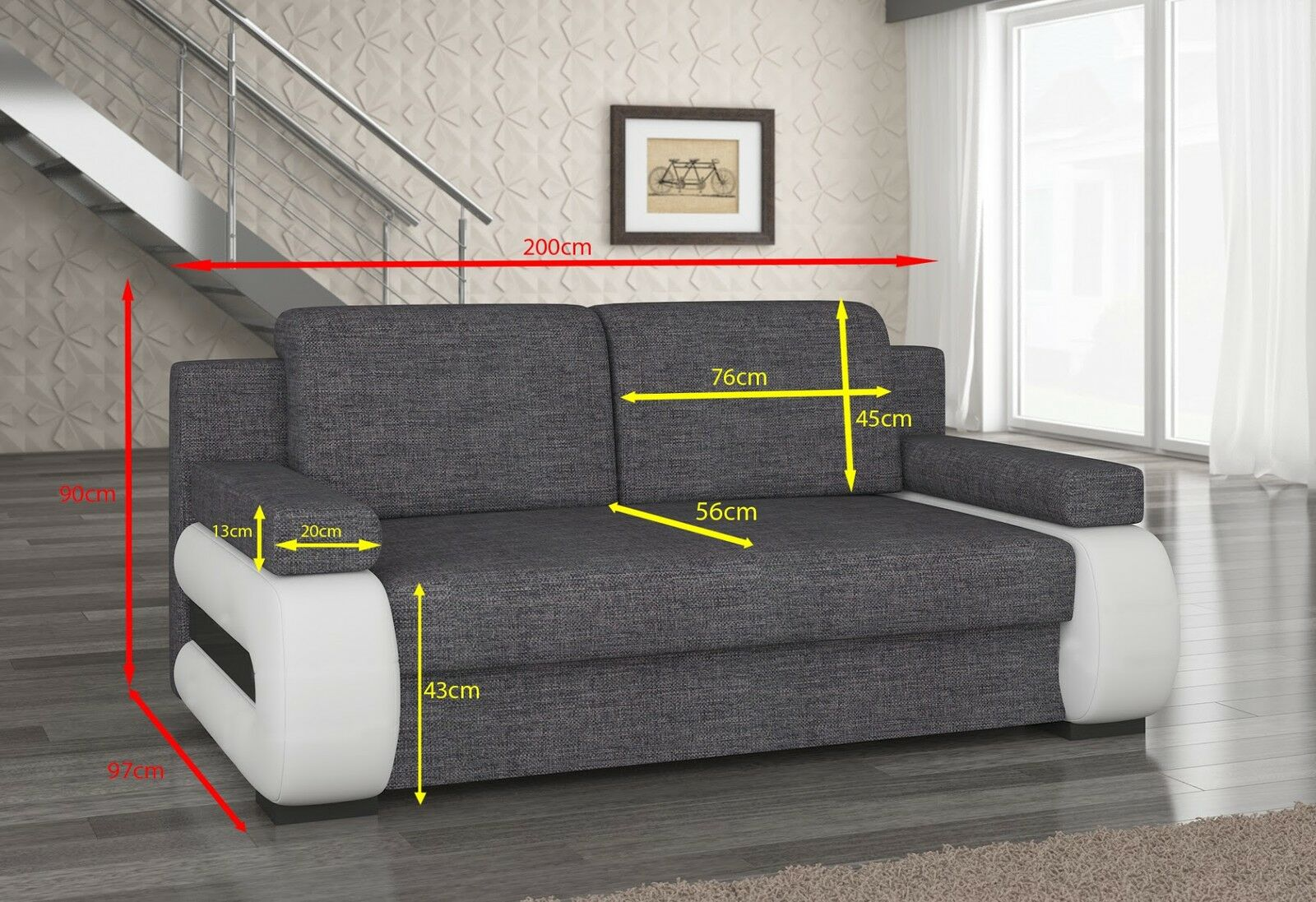 couch couchgarnitur sofa polstergarnitur la 05 mit. Black Bedroom Furniture Sets. Home Design Ideas