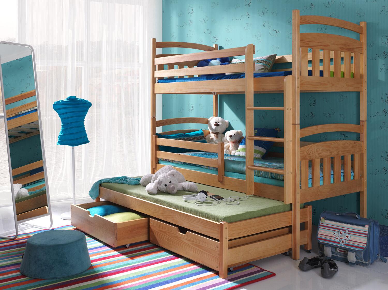 Etagenbett Unten Doppelbett : Stockbett etagenbett hochbett doppelbett alan cm kaufen