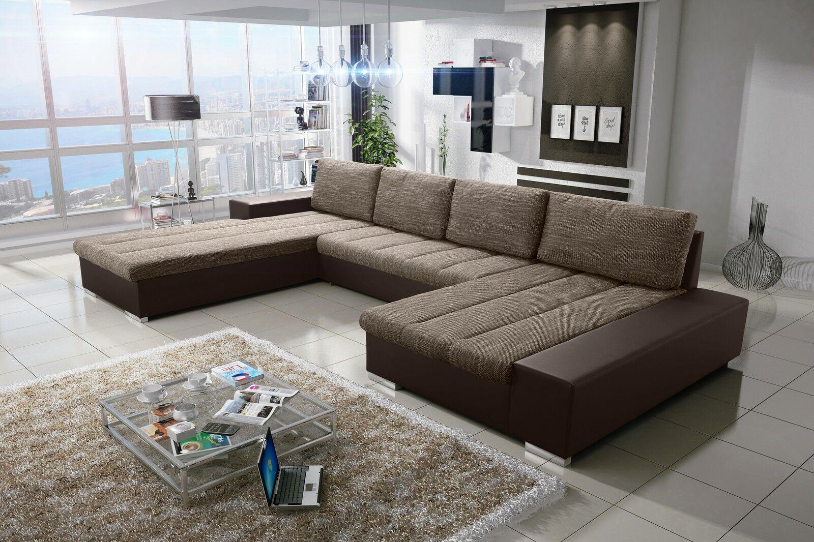 Verona 8 U Sofa Couchgarnitur Couch Sofagarnitur U Wohnlandschaft