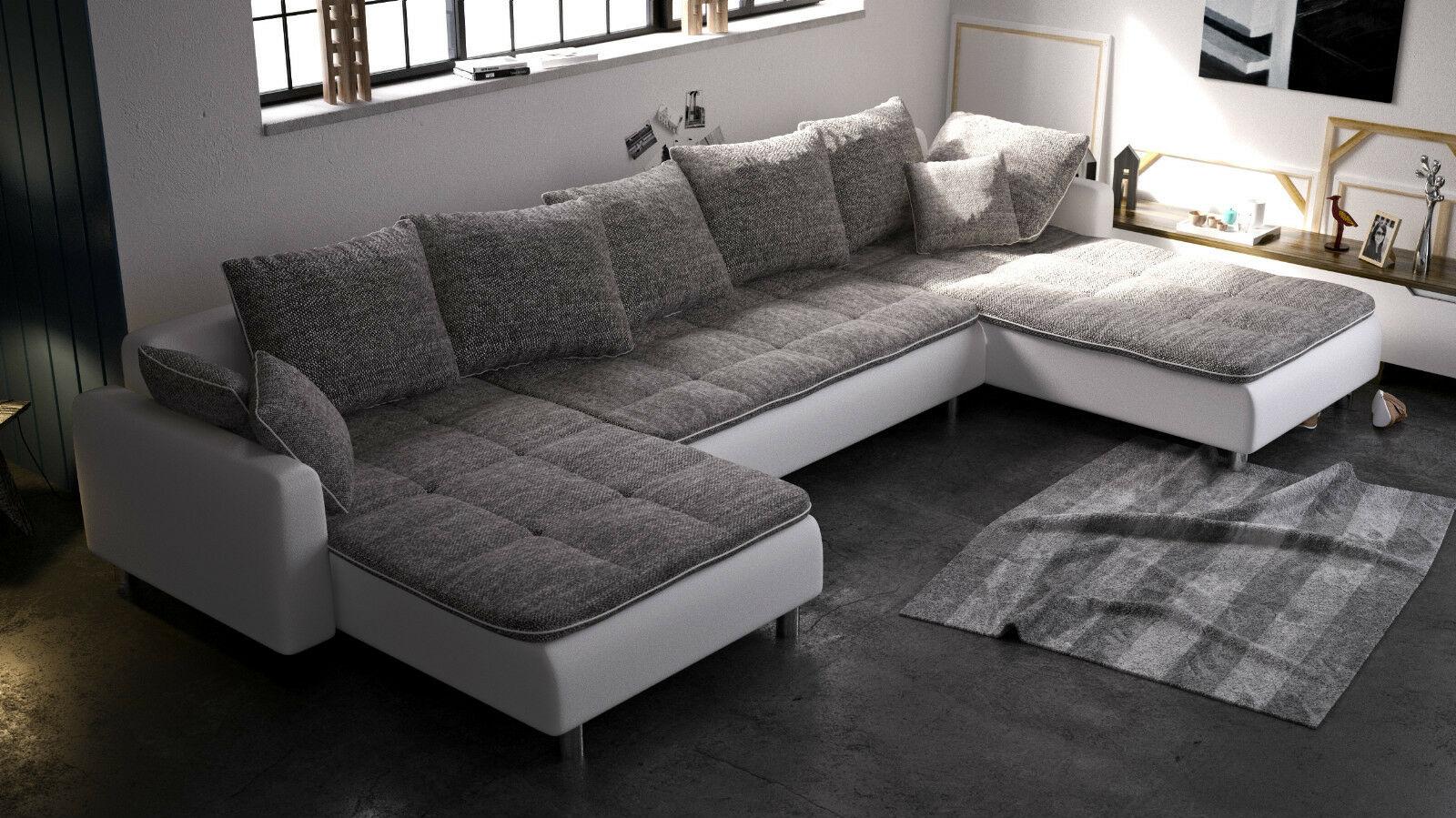 Couch Couchgarnitur Crusch Polsterecke Schlafsofa Sofa