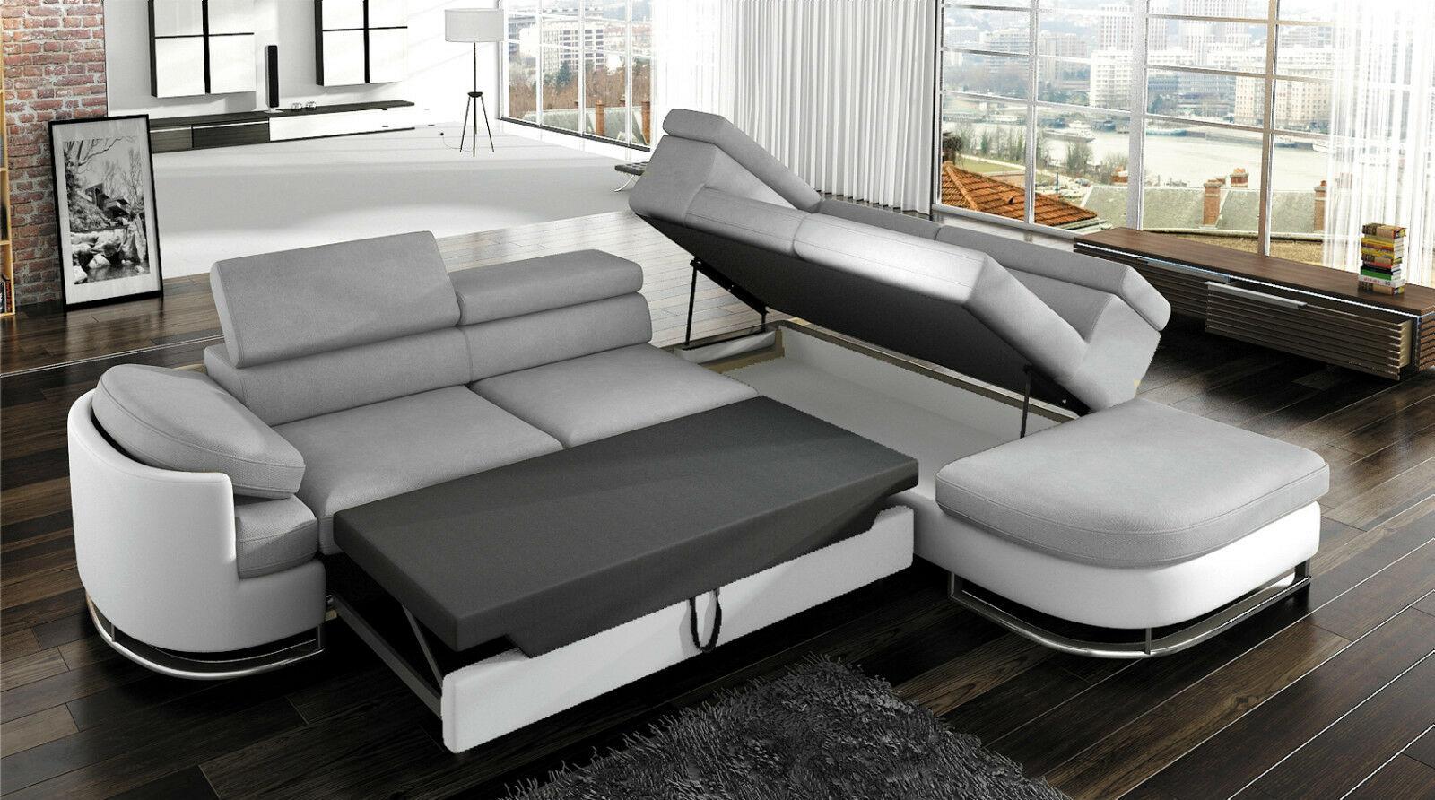 couchgarnitur ice sofa eckcouch polstergarnitur. Black Bedroom Furniture Sets. Home Design Ideas