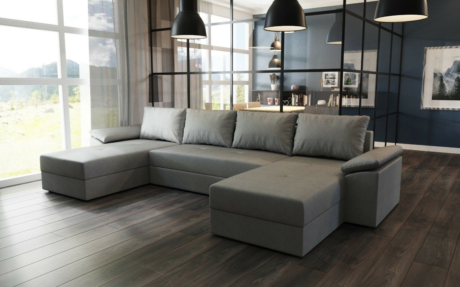 Couchgarnitur Dallas U Ecksofa Eck Couch Sofagarnitur Sofa