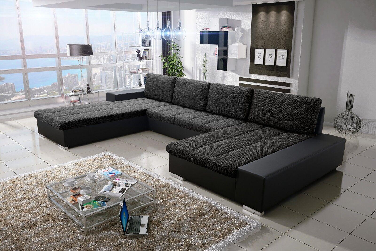Sofa Couchgarnitur Couch Sofagarnitur Verona 3 U Wohnlandschaft