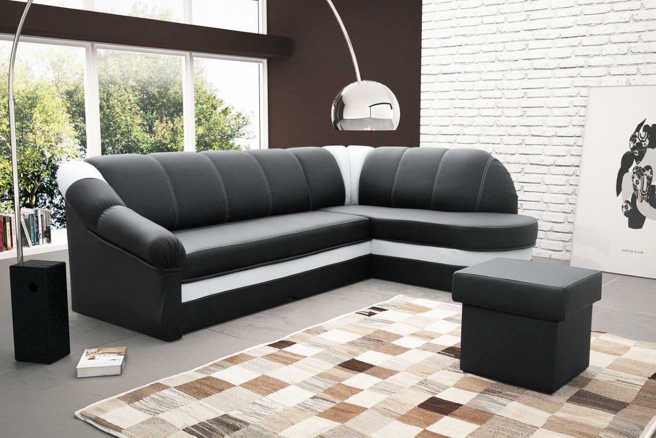 sofa couchgarnitur benamo couch federkern polesterecke mit. Black Bedroom Furniture Sets. Home Design Ideas