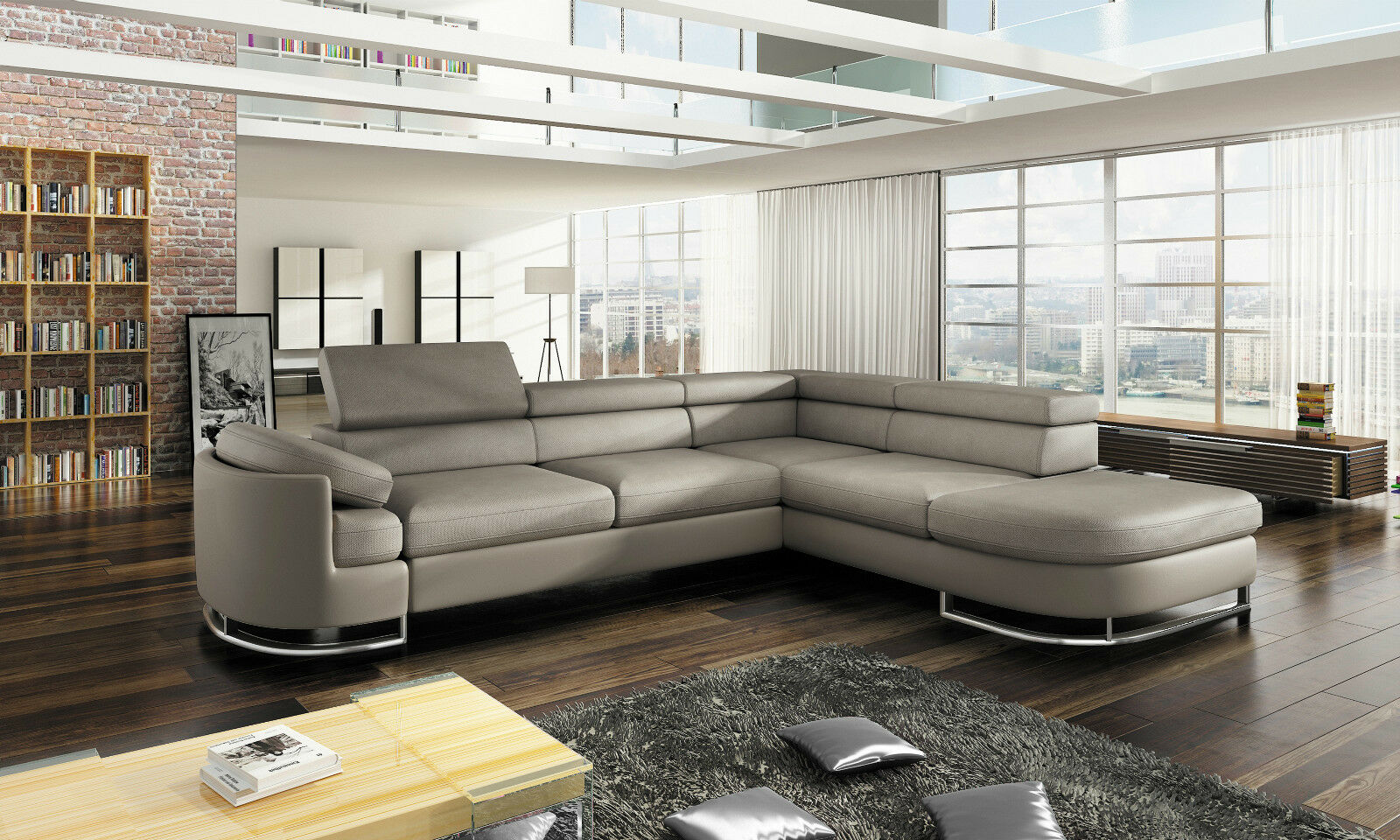 couchgarnitur ice sofa eckcouch polstergarnitur schlaffunktion couch ecksofa kaufen bei. Black Bedroom Furniture Sets. Home Design Ideas