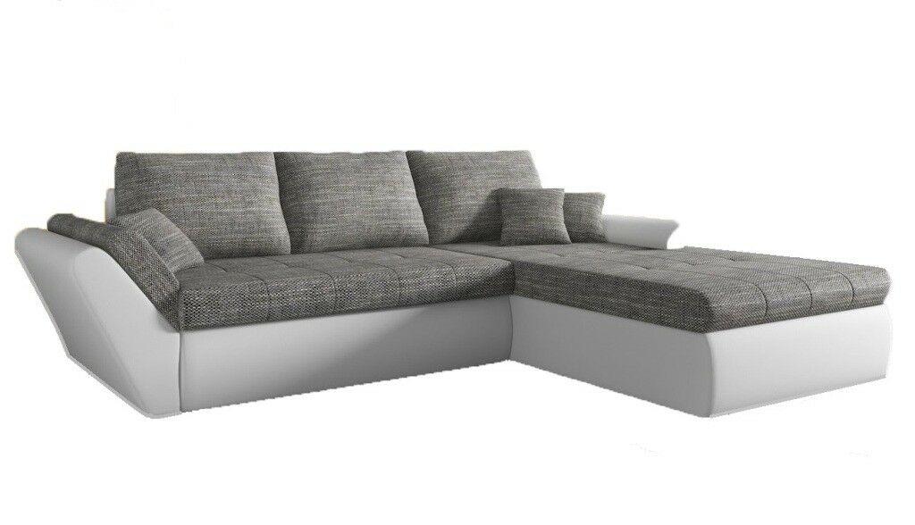 Sofa Couchgarnitur Ecksofa Couch Cloe Mit Schlaffunktion
