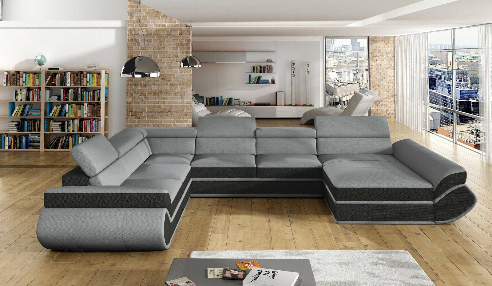 couchgarnitur genesis xl sofa mit schlaffunktion couch. Black Bedroom Furniture Sets. Home Design Ideas