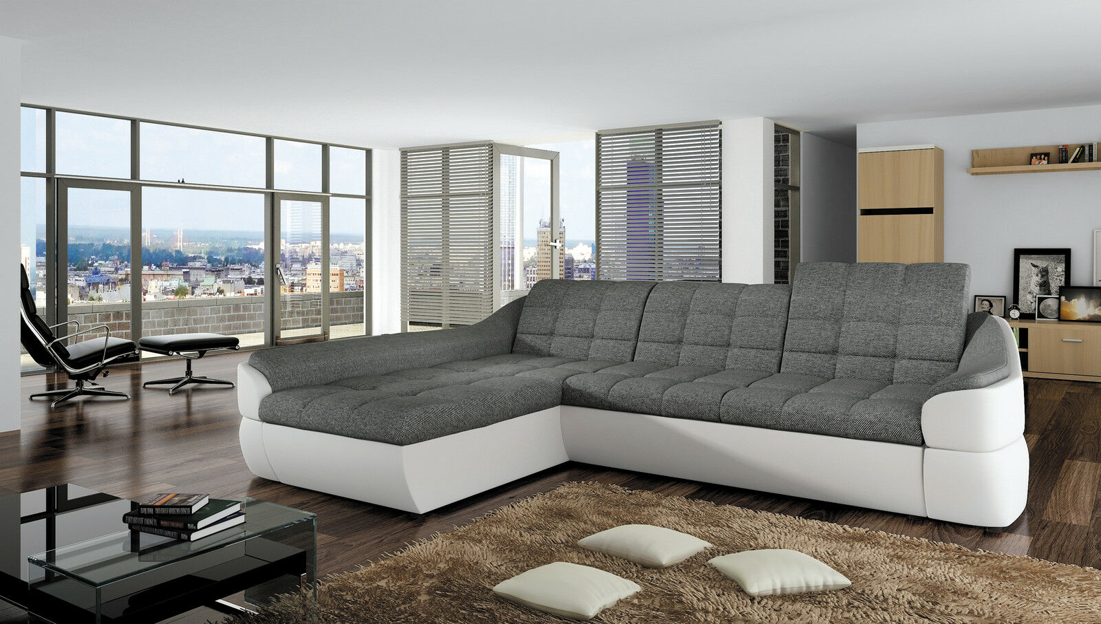 couchgarnitur infinity mini sofa mit schlaffunktion couch. Black Bedroom Furniture Sets. Home Design Ideas