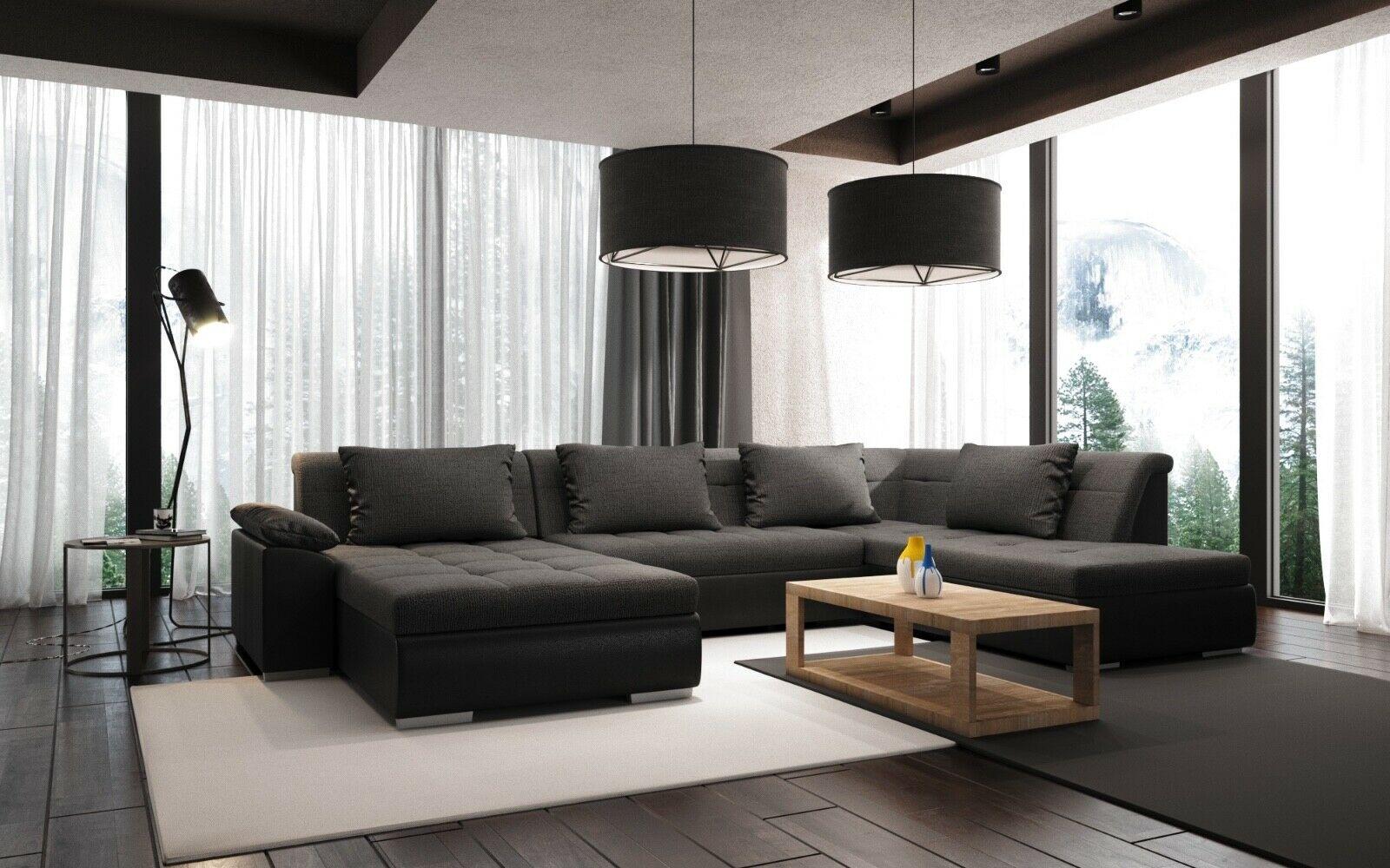 Limo U Form Mit Schlaffunktion Couchgarnitur Couch Polster Sofa