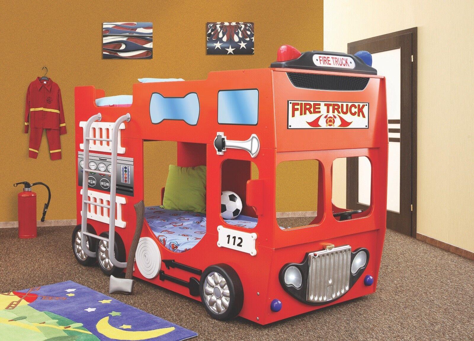 Kinderzimmer Bett Kinderbett Etagenbett Kinderbett Feuerwehr