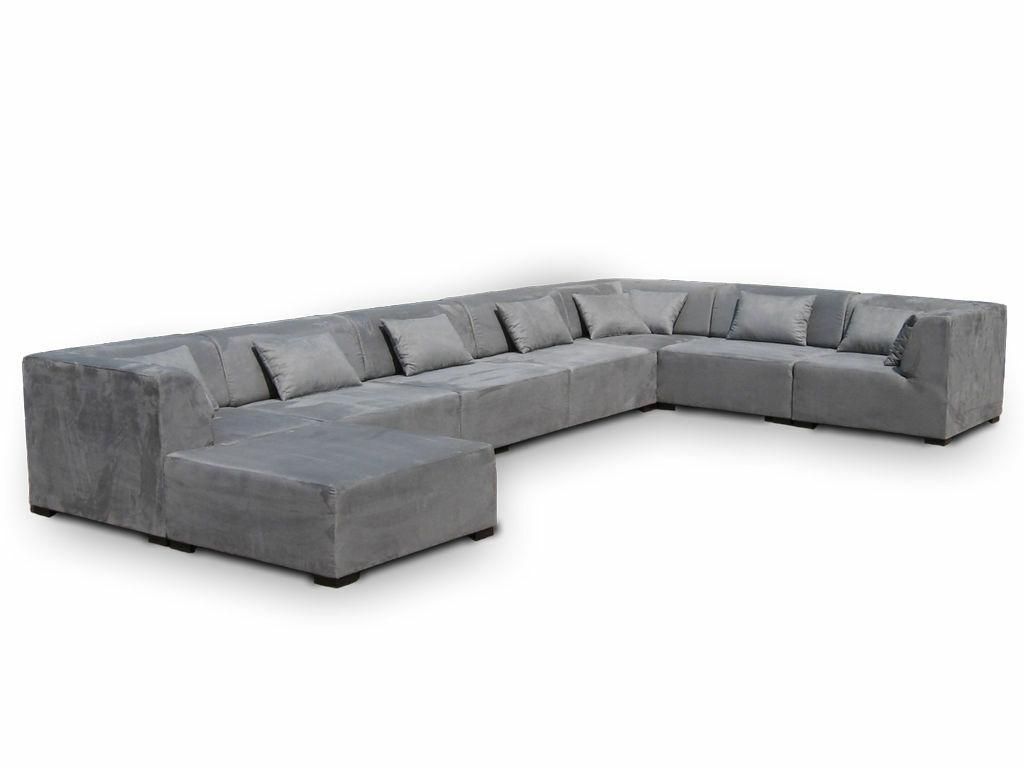 Couchgarnitur Wohnlandschaft Big Sofa Supermax 8 Teile Modulsofa