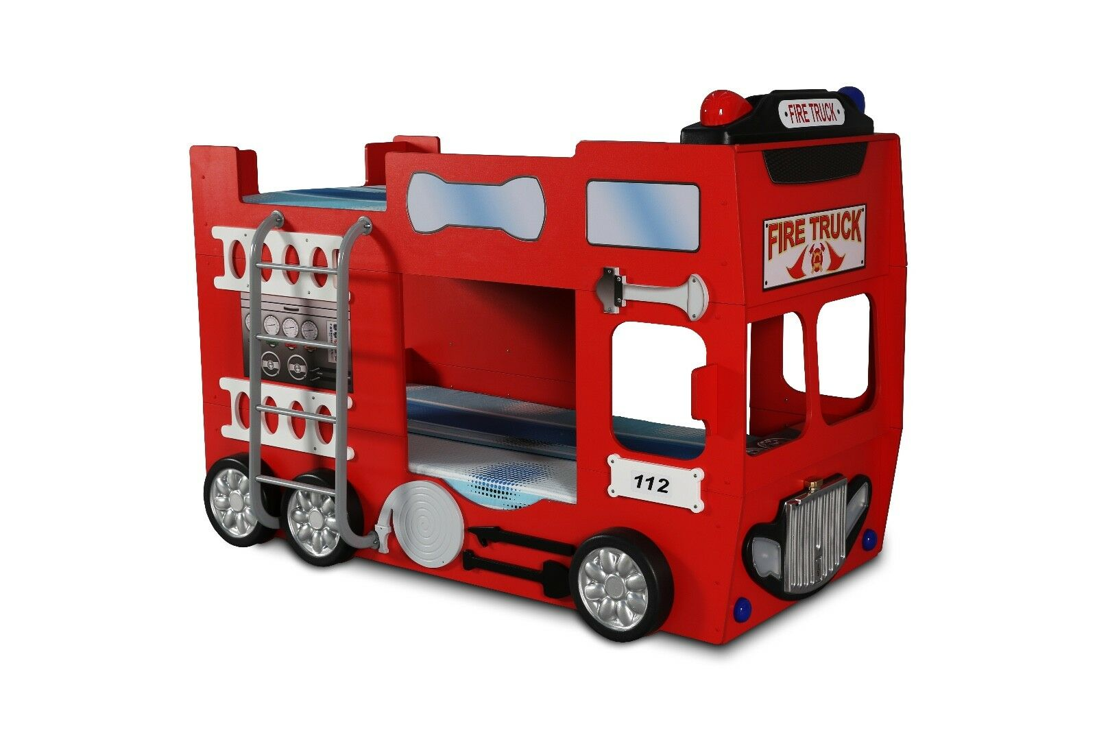 Bus Bett Etagenbett : Kinderzimmer bett kinderbett etagenbett feuerwehr