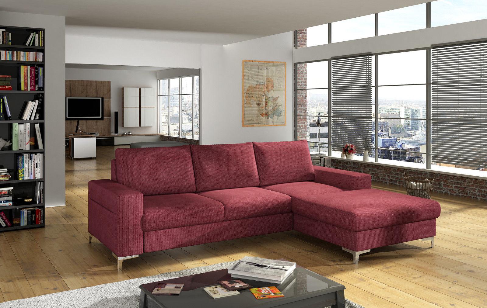 Couchgarnitur Lens L Sofa Mit Schlaffunktion Couch Polsterecke