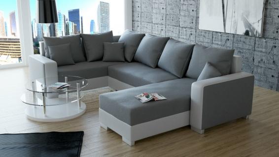 Sofa Couchgarnitur Couch Sofagarnitur PALIO 2 U Wohnlandschaft Schlaffunktion