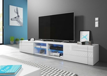Sideboard Lowboard TV Fernsehschrank HIT2 double 200 Kommode inkl LED Highboard