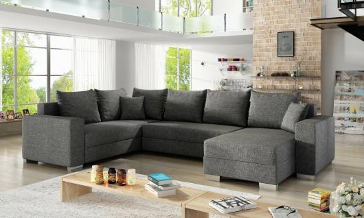Couchgarnitur Sofa MARCO U Form Schlaffunktion Bettkasten schneller Versand NEU