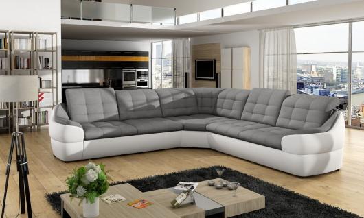Couchgarnitur INFINITY L Sofa Couch Polsterecke Ecksofa Polstergarnitur