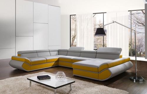 Couchgarnitur GENESIS XL U Couch Sofa Sofagarnitur Polsterecke Schlaffunktion