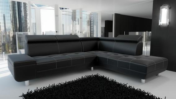 Couch Garnitur Ecksofa Sofagarnitur Sofa Reeno Schlaffunktion Couchgarnitur NEU