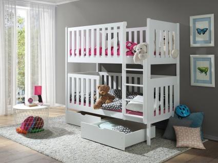 Kinderbett Doppelbett Jugendbett Etagenbett DAVID NEU Lieferzeit ca 1-3 Wochen
