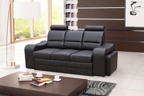 Couch Sofa Couchgarnitur Venus Polesterecke mit Schlaffunktion Wohnlandschaft
