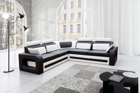 Couch Couchgarnitur Sofa Polsterecke BE 01 U Wohnlandschaft Schlaffunktion
