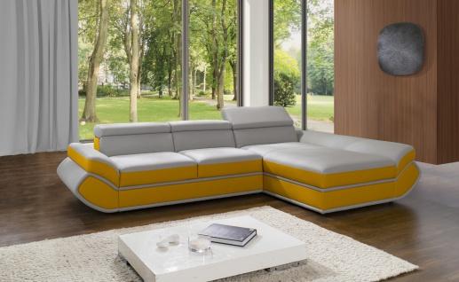 Couchgarnitur GENESIS MINI L Couch Sofa Sofagarnitur Polsterecke Schlaffunktion