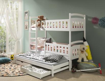 Kinderbett Doppelbett Jugendbett Etagenbett BLANCA NEU Lieferzeit ca 1-3 Wochen