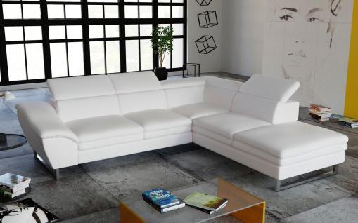 Couch Garnitur Ecksofa Sofagarnitur Sofa MICHELLINI 2 Wohnlandschaft