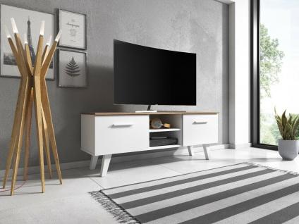 Sideboard Lowboard TV Fernsehschrank North 140 cm Kommode Anrichte Highboard NEU