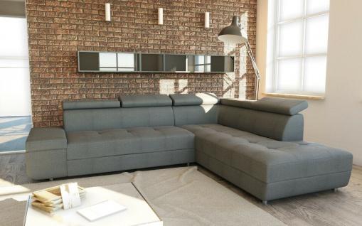 Couch Garnitur Ecksofa Sofagarnitur Sofa Reeno Couchgarnitur Schlaffunktion NEU