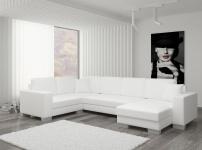 Couch Couchgarnitur Sofa Polsterecke MC 09 U Wohnlandschaft Schlaffunktion