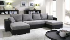 Sofa Couchgarnitur Couch Sofagarnitur 4112200/6 U Wohnlandschaft Schlaffunktion