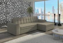 Couch Couchgarnitur Sofa Polsterecke CF 15 Wohnlandschaft mit Schlaffunktion