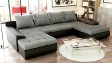Couchgarnitur Ecksofa Sofagarnitur Sofa FUTURE 2.1 Wohnlandschaft Couch EK14 B01