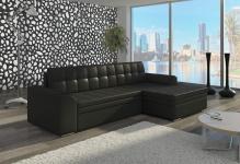 Couch Couchgarnitur Sofa Polsterecke CF 16 Wohnlandschaft mit Schlaffunktion