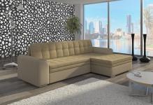 Couch Couchgarnitur Sofa Polsterecke CF 02 Wohnlandschaft mit Schlaffunktion
