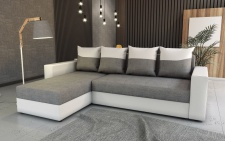 Couch Garnitur Ecksofa Sofagarnitur Sofa FOXY Schlaffunktion EK 26 Malmo 90 NEU