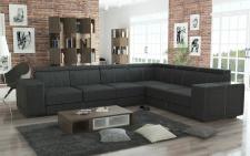 Couchgarnitur Couch Garnitur Sofa CARI Boss 12 Polsterecke Wohnlandschaft