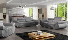 Couchgarnitur GENESIS 3 2 1 Sofa Couch Polsterecke Ecksofa POLSTERGARNITUR