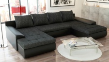 Couchgarnitur Ecksofa Sofagarnitur Sofa FUTURE 2.1 Wohnlandschaft Couch EK14 B02