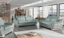 Couchgarnitur GALACTIC 3 2 1 Sofa Couch Polsterecke Ecksofa POLSTERGARNITUR